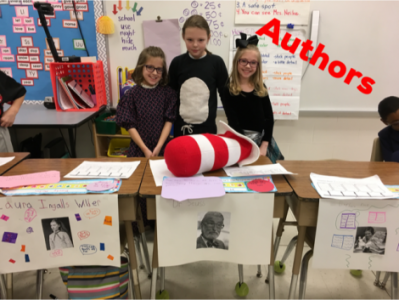 Neike - 2nd Grade Wax Museum1