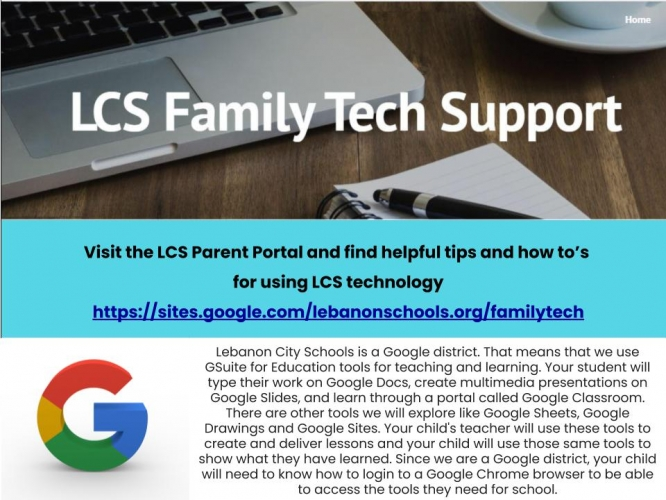 Go to the LCS Parent portal for help