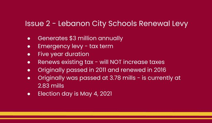 facts about proposed levy renewal