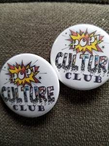 Pop Culture Club Button