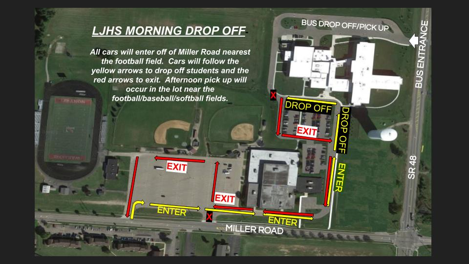 Traffic Map for LJHS