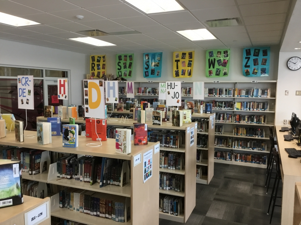 Picture of the LJHS media center